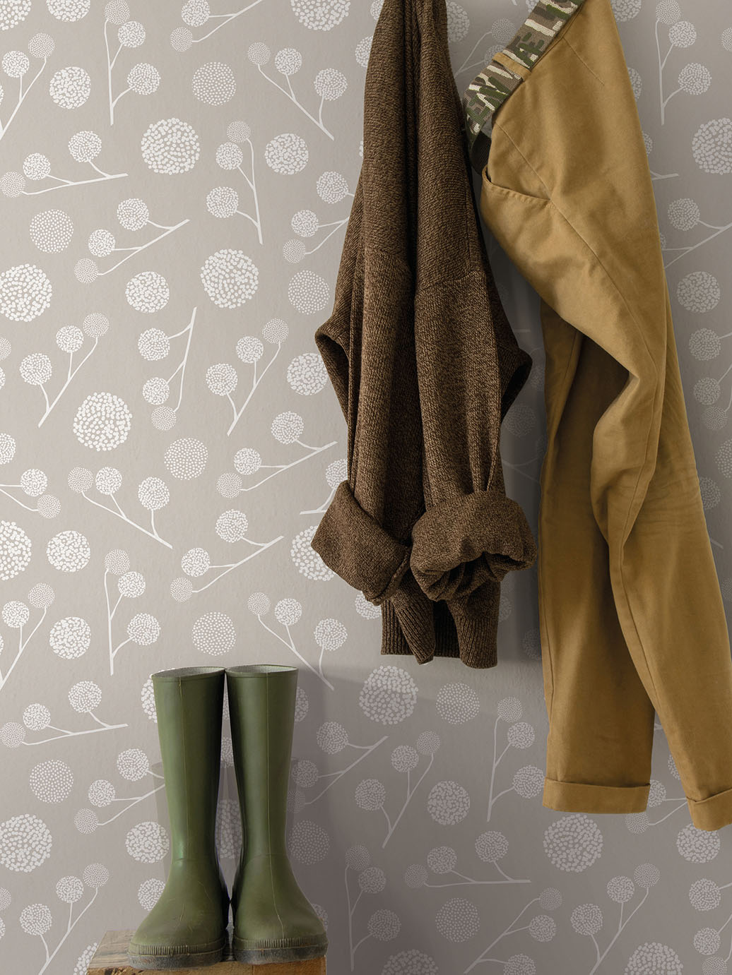 Tapeta Plane tree taupe