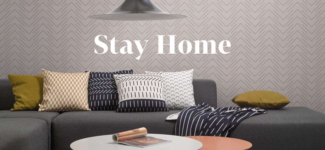 Stay home s Follow pearl grey